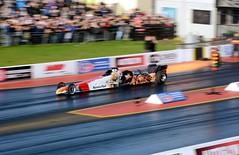 Jet Dragster (Fast an' Bulbous) Tags: santa england car race speed drag pod nikon october track power outdoor gimp fast strip motorsport dragster acceleration d7100