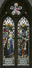 Dorcas, Terrington (TheRevSteve) Tags: church parish norfolk stainedglass anglican dorcas stclement terrington terringtonstclement