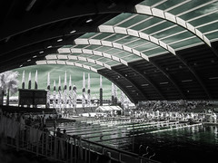 The Venue (TomBenedict) Tags: swimming ir hawaii infrared bigisland hilo swimmeet kawamoto