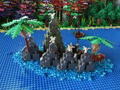 IMG_8046 (LUG Festibriques) Tags: montagne dragon lego exposition fantasy nancy hotdogs caverne fantastique 2015 scoubidou festibriques ludibriques