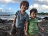 grandsons (lucky e) Tags: ocean thanksgiving beach hawaii pacific maui enzo thankful barron grandsons iphone napili 4yrs 21mo
