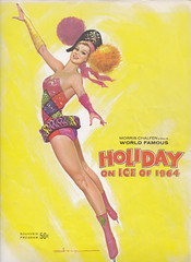 Holiday On Ice 1964 (Mr. Low Notes) Tags: show girls art ice vintage women skating babes program 1960s programs beauties 1964 holidayonice