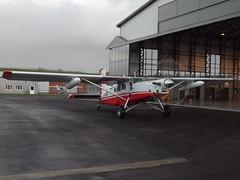 D-FIBE Pilatus Porter PC-6 (Aircaft @ Gloucestershire Airport By James) Tags: james airport gloucestershire pilatus porter lloyds pc6 egbj dfibe