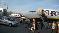 Krakow airport (David Denny2008) Tags: krakow crakow poland december 2015 johnpaulii airport blonde milf leggy brunette ryanair 737 babe peopleandpaths