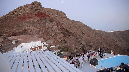 23368620021_0b788e16d1 Catholic Wedding in Santorini: wedding video to Cycladic