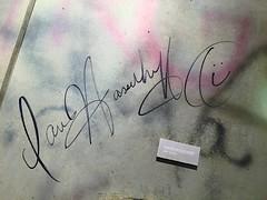 365.9.20 (Sound Minion) Tags: berlin autograph davidhasselhoff eastberlin ampelmann