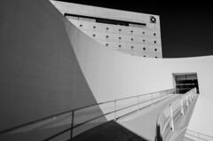 Museo de la Memoria de Andalucia (J Fuentes) Tags: blancoynegro architecture blackwhite andaluca arquitectura flickr shadows curves save patio granada cajagranada centrocultural elptica albertocampobaeza