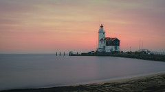 Het Paard van Marken (2) (pierre bakker) Tags: marken noordholland netherlands nl water waterfront morning lighthouse nightscape
