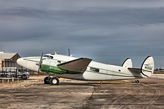 Lockheed Lodestar N31G (Ray Cunningham) Tags: lockheed lodestar n31g houston municipal airport
