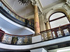 University Block, Syracuse New York (duaneschermerhorn) Tags: architecture architect pillars windows railing interior mezzanine