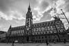 Hamburg - City Hall (superbart77) Tags: architecture blackandwhite city clouds hamburg rathaus rathausmarkt townhall cityhall
