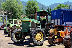 JOHN DEERE 4240 (marvin 345) Tags: johndeere4240 johndeere trattore tractor oldtractor lazio italy italia oldtimer
