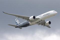 Airbus A350-941 (nickchalloner) Tags: fwwcf airbus a350941 a350900 a350 900 941 farnborough international airshow 2016 fia fab eglf airport