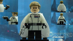Custom LEGO SW Rogue One: Director Orson Krennic (Will HR) Tags:
