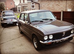 Triumph Dolomite EPL 784J (Bringing the past to the modern) Tags: triumph dolomite epl 784j car classic sprint leyland 1971 motoring retro vintage ford anglia ery 45c 105e british english