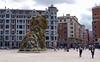 'Puppy' by Jeff Koons (SteveInLeighton's Photos) Tags: 2014 spain bilbao bilbo biscay basquecountry museum euskalherria bizkaia vizcaya guggenheim sculpture jeffkoons puppy espana april