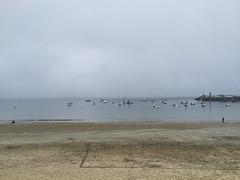 2016-08-14 21 25 14 (Pepe Fernández) Tags: mar galicia paisaje exterior oceano niebla playa panxón nigrán