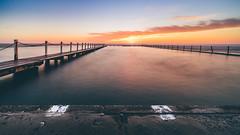 Dawn (scotty-70) Tags: lenstagger sony a7 voigtlander dawn sunrise pool rockpool narrabeen nsw