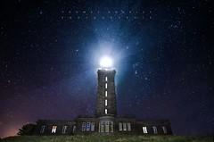 Stary Cap Fréhel IV (tbourley) Tags: lighthouse phare cotes darmor bretagne britany capfréhel stars étoiles long exposure nikon d5100 tokina 1116mm