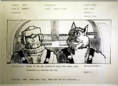 Han Solo & Chewbacca Concept Art (JohnnyJangles) Tags: starwarsidentities starwars chewbacca conceptart sketch drawing hansolo bountyhunter wookiee chewie