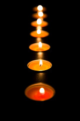 1:12 Candle in the Night (aphamilyaffair) Tags: candle night light burn flicker