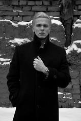 DSC_1085 (Katharina Berliner) Tags: blackandwhite boy handsomeboy man mansportrait portrait moscow winter style