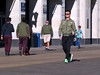 The Color Of The Day Is Olive (Multielvi) Tags: atlantic city new jersey nj south boardwalk candid hall walking people