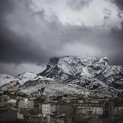 Petrer, Alicante. 19 de enero de 2017. (Raúl Barrero fotografía) Tags: nieve snow poetrer alicante cid