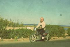 3450 (adnogstreets) Tags: midoum scooter soleil sun vélo bike tractor tracteur charette école school market marché moon lune desert hotel hostel