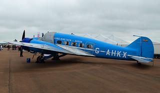 G-AHKX Avro 19 Anson
