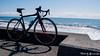 (yomoneko1) Tags: spring leica dlux3 bicycle felt fulcram racingzero pottering dandelion plumblossoms