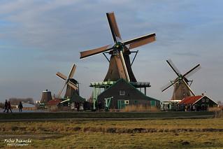 Mulini a Zaanse Schans