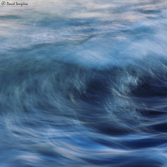 Wave Power. (dasanes77) Tags: canoneos6d tripod landscape seascape waterscape sea ocean sunset lastlights bluehour longexposure valencia grauvell sagunto abstract dynamic blue colors