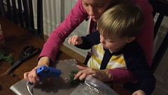 "Paul and Mommy Make Christmas Decorations • <a style=""font-size:0.8em;"" href=""http://www.flickr.com/photos/109120354@N07/32957390272/"" target=""_blank"">View on Flickr</a>"