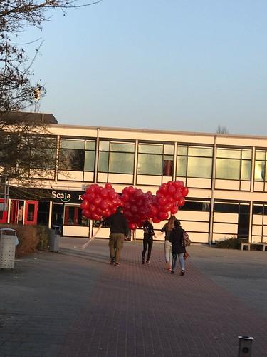 Heliumballonnen Liefde Valentijnsdag Penta Collega Scale Rietvelden Spijkenisse