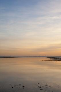 Low Tide, Setting Sun, Shoeburyness