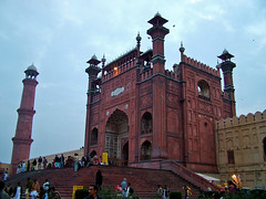 Entrance of Badshahi Mosque
