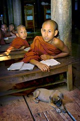 buddhist school in mandalay (phitar) Tags: travel school topf25 asia 2000 burma myanmar itsongselection1 mirrorsofsociety flickrzen itsongmirrorssoutheastasia itsongcanond30 phitar