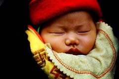 chinese baby - baby eyes asia travel eyesshut china sleep phitar shut beijing 2002 sleeping