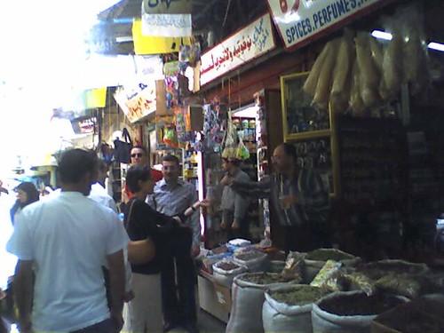 spies in the bazaar