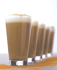 latte in a row
