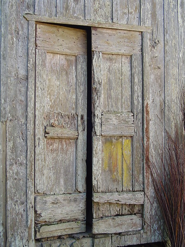Italian Imigrant wood door