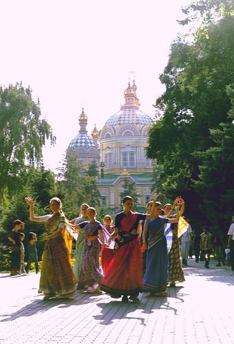 Hare Krishna meets Orthodox church