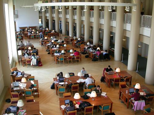 Reading Room, Grainger Engineering Library, UIUC