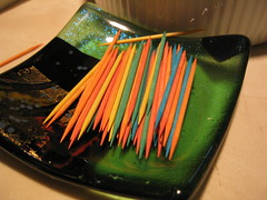 toothpicks (ghirson) Tags: sanmateo scottbirthday toothpicks