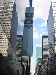 Museum of Modern Art, New York (Tjeerd) Tags: 2005 newyorkcity holiday newyork sign museum skyscrapers moma museumofmodernart