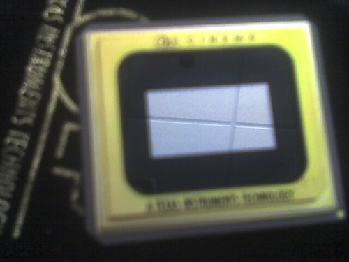 G4 TV taping: digital cinema chip from Texas Instruments
