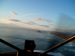 flying towards morro bay (emdot) Tags: cloud plane waves horizon morrobay propeller morrorock slocounty sandspit flyingwithvisionaerie thanksva slofromtheair utataview