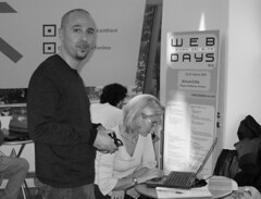 Axell e Barbara Bellini (Clarence) (Axell [www.axellweb.com]) Tags: torino andrea atrium clarence webdays proserpina axell toso kiarablog costanzacandi barbarabellini webdays2004