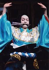 Kabuki actor 8 (転倒虫) Tags: people japan nagahama kabuki boy actor